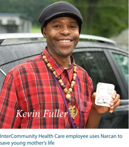 InterCommunity Health Care Employee, Kevin Fuller, uses Narcan to save young mother's life